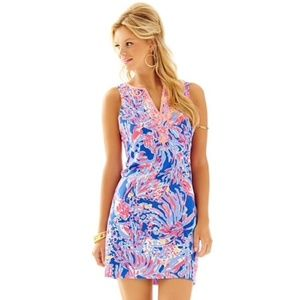 Lily Pulitzer Lyssa Notch Neck Shift Dress